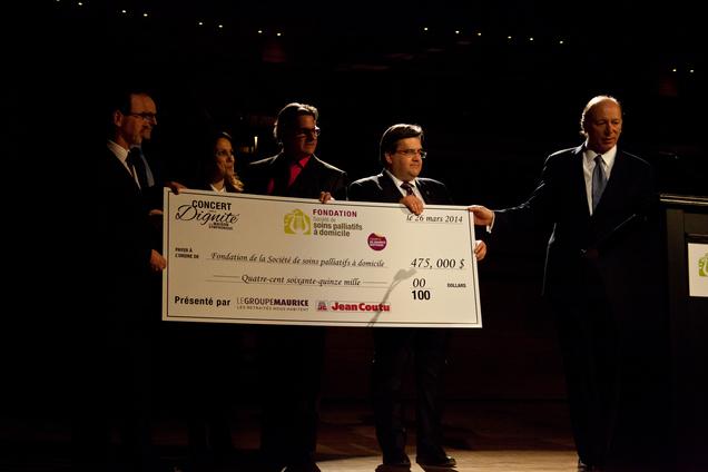 Un grand succès financier pour le Concert pour la DIgnité 2014